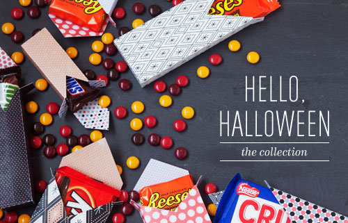 Hello, Halloween Printables + Die Cuts