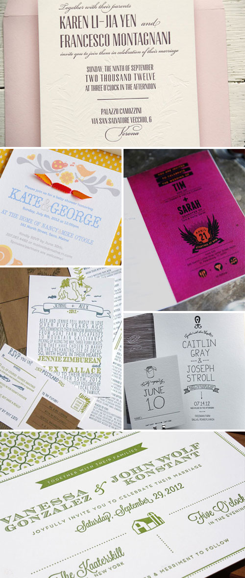 Lovely Invitation Designs