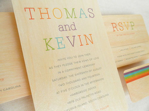 Pride Wedding Invitations