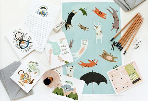 Quill & Fox Paper Goods