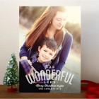 A Wonderful Life Holiday Photo Cards