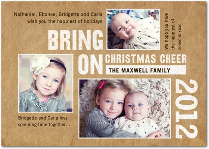 Bring on Christmas Photo Cards
