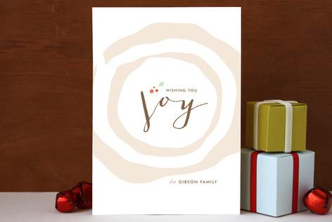 Buche de Noel Holiday Cards