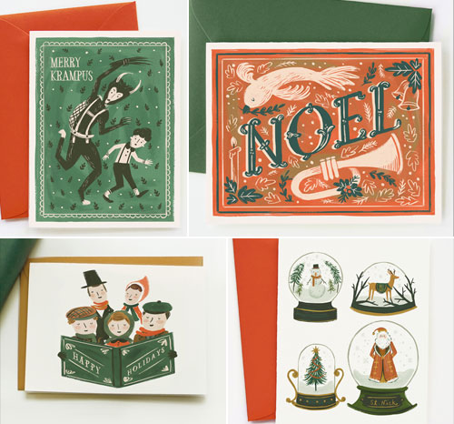 Quill & Fox Holiday Cards