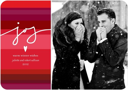 Joyful Joys Holiday Photo Cards