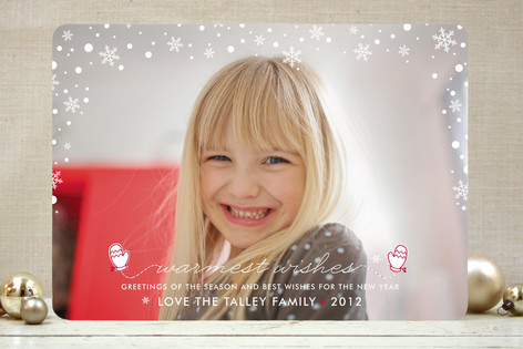 Let It Snow Holiday Photo Cards
