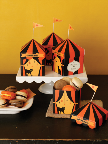 Martha Stewart Crafts Carnival Tent Treat Boxes