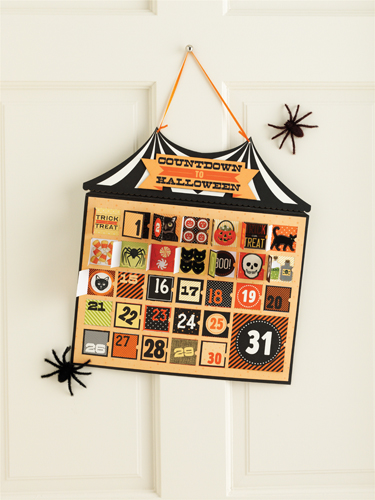 Martha Stewart Crafts Halloween Countdown Calendar
