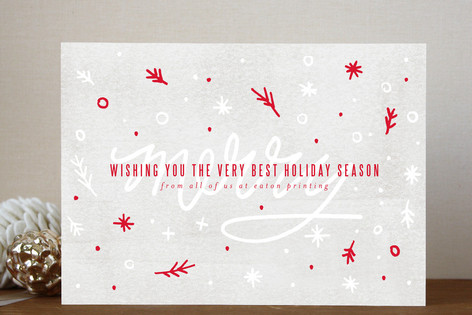 Merryfetti holiday cards by moglea merryfetti business holiday cards colourmoves