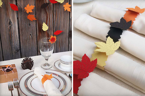 Modern Thanksgiving Decorations