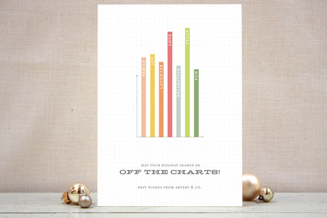 Off the Charts Business Holiday Cards