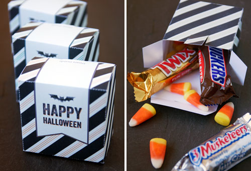 Free Printable Halloween Candy Boxes