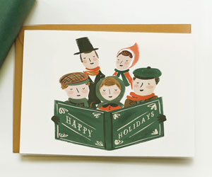 Holiday Carollers Card