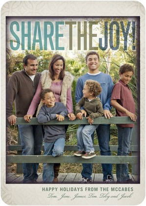 Share the Joy Holiday Photo Cards
