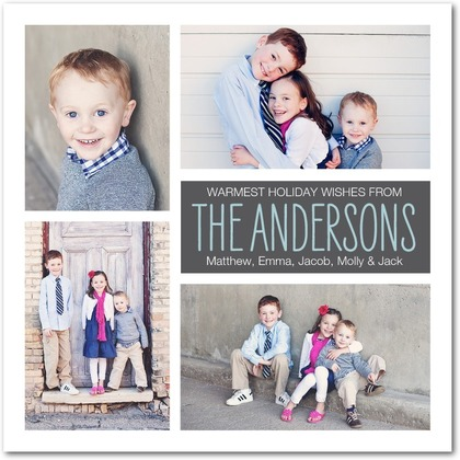 Understated Charm Holiday Photo Cards