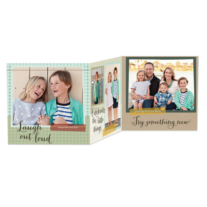 Wise Inspiration Holiday Photo Cards