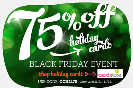 Cardstore Black Friday Sale
