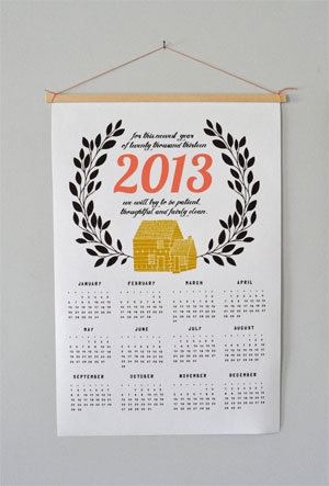Canvas Home Calendar by Spread the Love