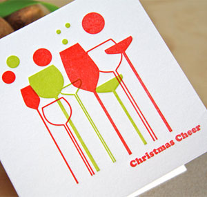 Christmas Cheer Letterpress Card