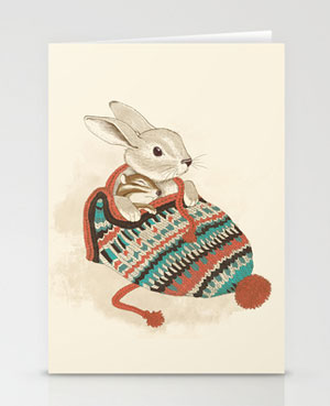 Cozy Chipmunk Card