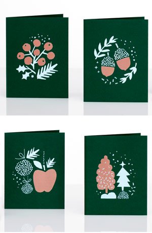 Evergreen Card Set