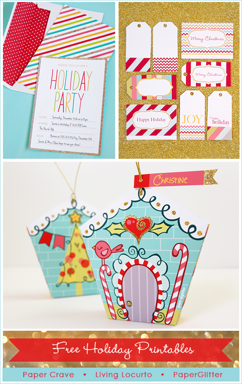 Free Printable Holiday Gift Exchange