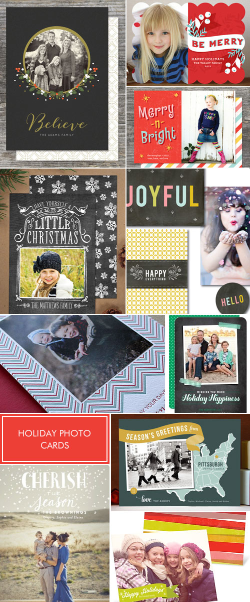 Holiday Photo Card Designs