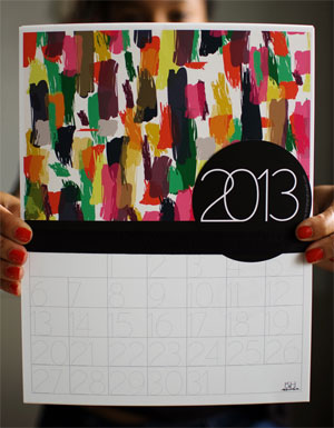 Multi Print Calendar by Khristian A. Howell