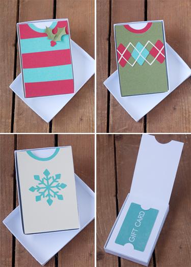 Gift Card Holder Die Cutting Files