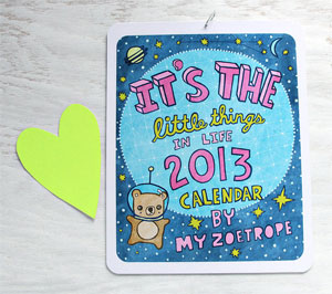 My Zoetrope Illustrated Calendar