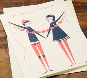 Paper Cut Out Card by Jill Labieniec for Red Cap Cards