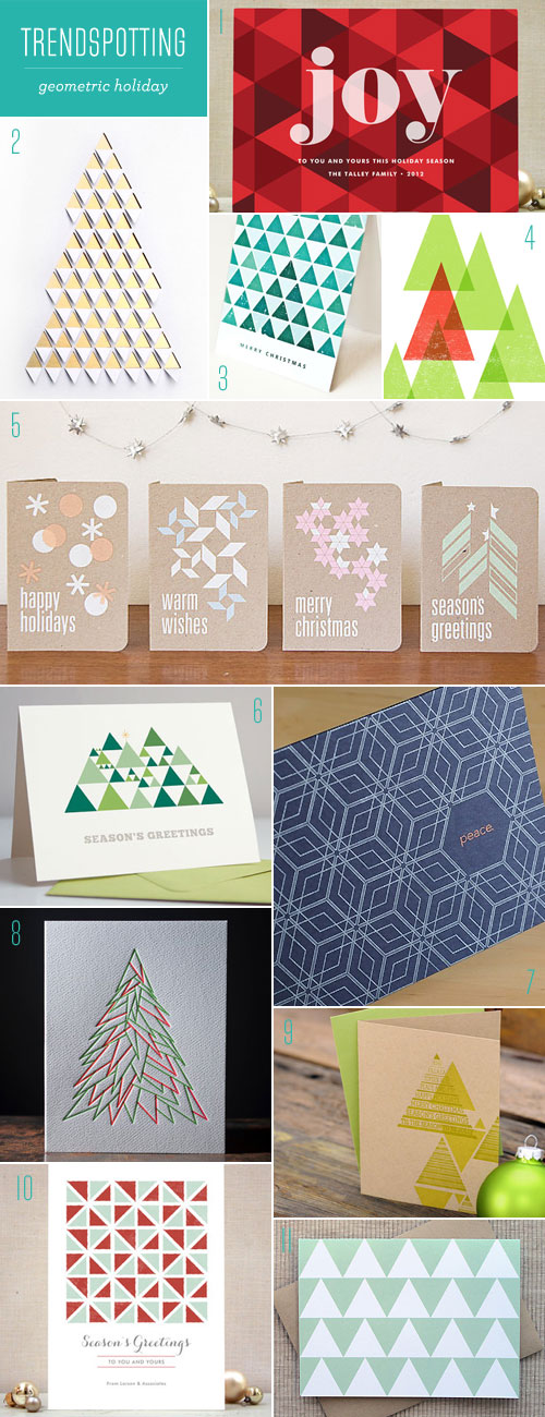 Trendspotting : Geometric Holiday