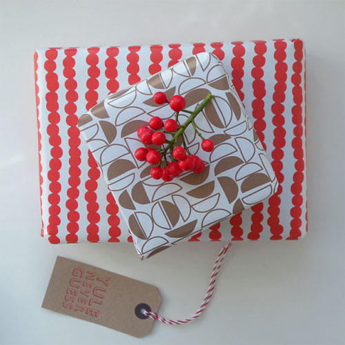 Modern Gift Wrap + Tags by Bobalong Press