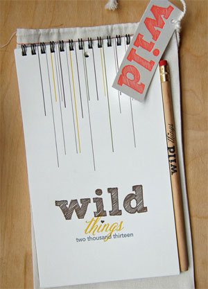 Wild Things Calendar by Lark Press