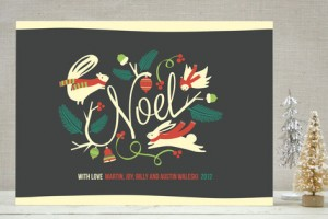Woodland Noel Holiday Cards
