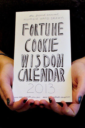 Fortune Cookie Wisdom Calendar