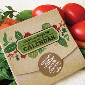 Grow-A-Garden Plantable Calendar