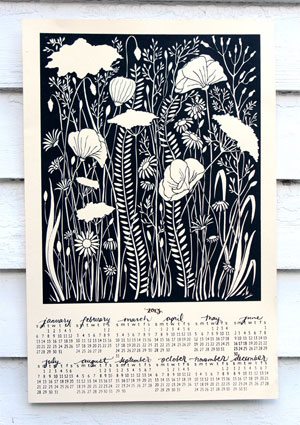Illustrated Botanicals Calendar