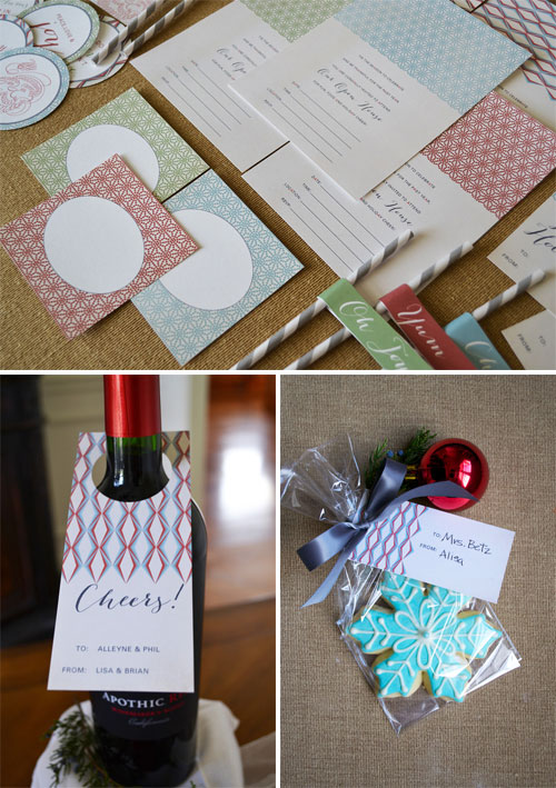 Free Printable Holiday Goods