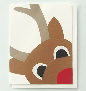 Close Encounter with Rudolph Card