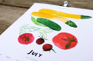 Seasonal Harvest Calendar