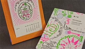Studio on Fire Letterpress Calendar