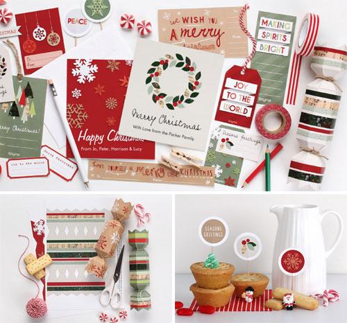 Tinyme Free Printable Holiday Goodies