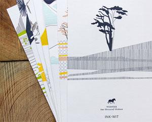 Vortex Letterpress Calendar