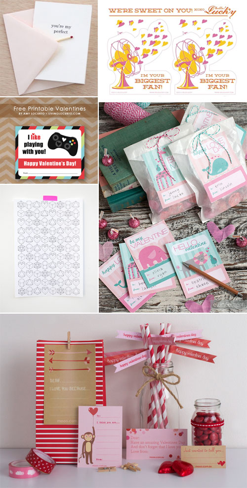 Free Printable Valentine's Day Goodies