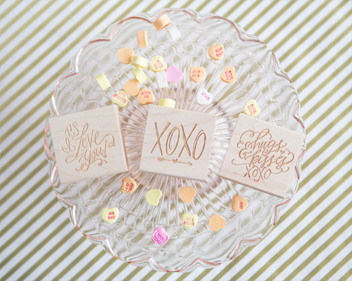 Lindsay Letters Rubber Stamps