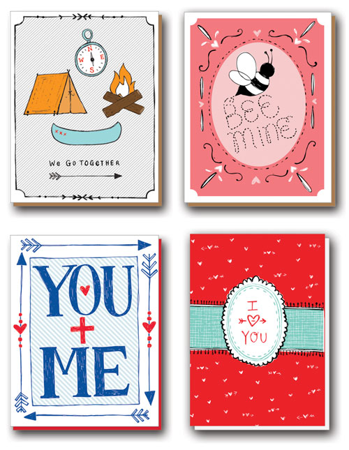 Natalie Eden Valentine's Day Cards