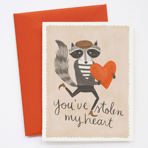 You've Stolen My Heart Card by Quill & Fox