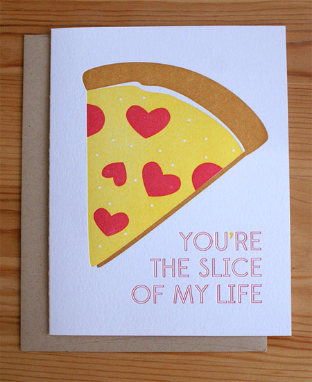 Slice of My Life Love Card