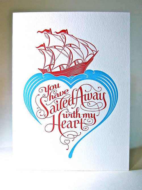 Sailed Away with My Heart Card by Pup & Pony